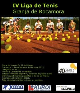 IV Liga de Tenis Granja de Rocamora