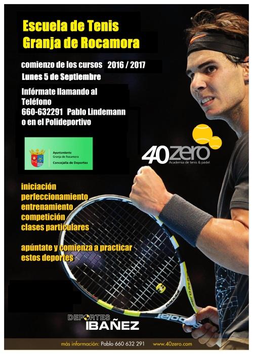 40zero (cartel escuela) 2016