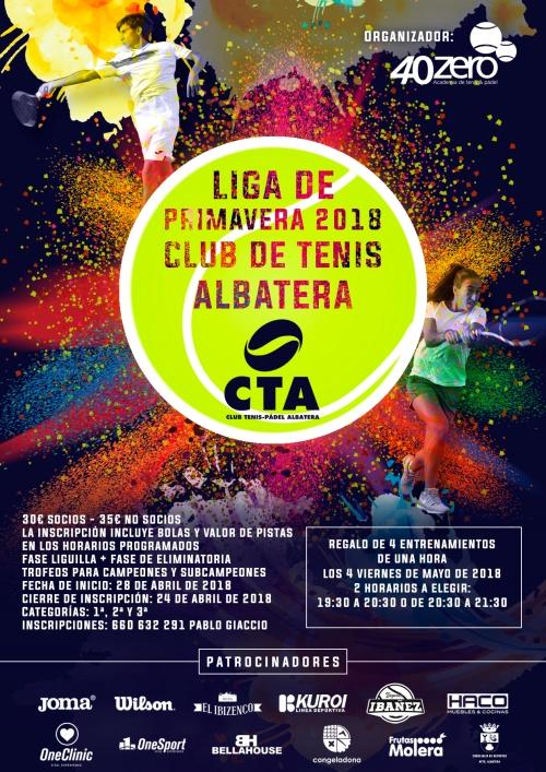 Liga Albatera primavera 2018